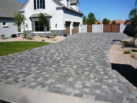 Home Driveway Design Ideas stone pavers centurion stone of arizona
