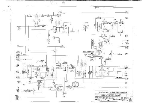 apc smart ups 1500 circuit board diagram wiring diagram