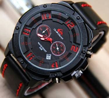 Jam Tangan Quicksilver Tali Kulit jual jam tangan pria quiksilver tali kulit qs6381b harga murah