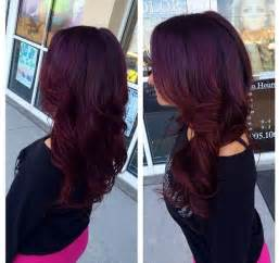 reddish purple hair color obsessed with this purple hair color anything