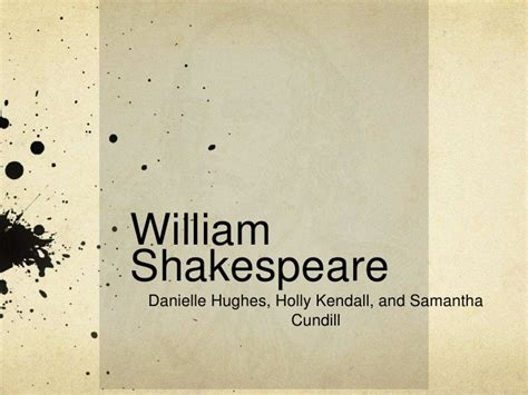 shakespeare powerpoint template william shakespeare presentation