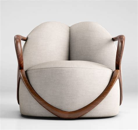 armchair furniture giorgetti hug armchair 3d model max obj cgtrader com