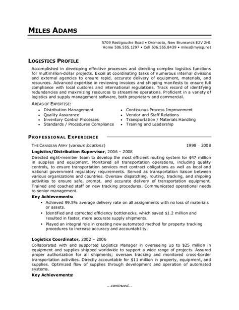 military to civilian resume exles best template