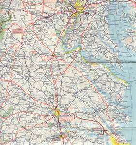 historical road maps of virginia