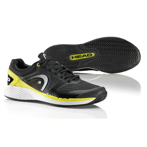 mens sprint pro tennis shoes black yellow