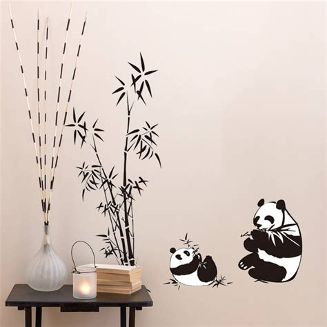 bamboo wall stickers bamboo wall stickers promotion shop for promotional bamboo