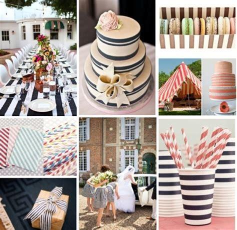 Striped Wedding Decor   Striped Wedding Straws   Striped