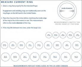 Ring sizing chart visit this page http www bluenile com find ring
