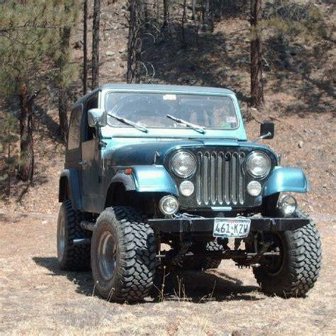 83 Jeep Cj7 83 Jeep Cj7 5 9 Amc 360 V8 Engine 4 Inch Susp Lift And 3