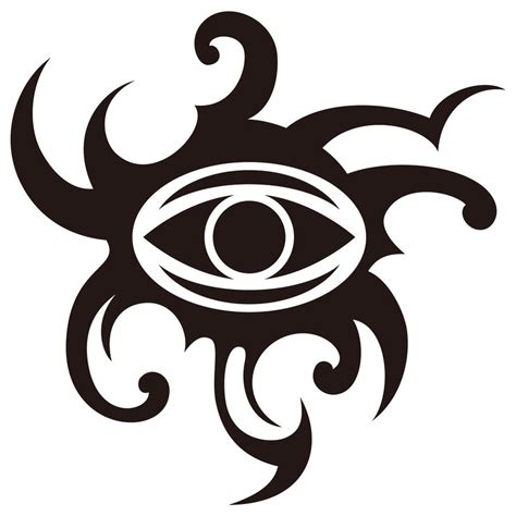 tribal designed gorgon s eye by takihisa on deviantart