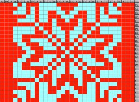 knitting pattern with snowflake snowflake knitting pattern a knitting blog
