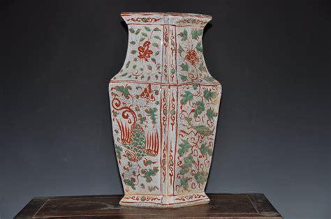 Antique Ceramic Vases by Antique Yuan Dynasty Ceramic Porcelain Crane Vase For