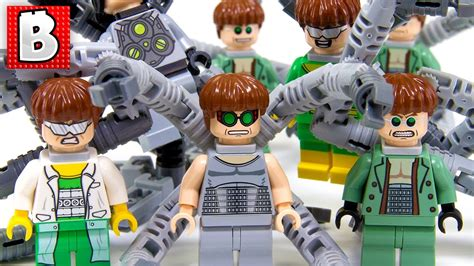 Lego Doctor Octopus Minifigure Every Lego Doctor Octopus Minifigure Made