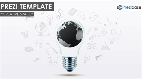 Creative Space Prezi Template Prezibase Prezi Template Ideas
