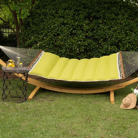 hatteras swings hatteras hammocks echo limelight pillowtop hammock