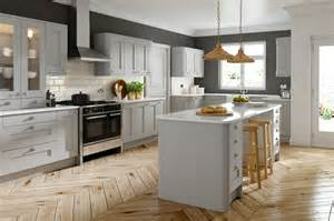 dove grey shaker grained icon kitchens