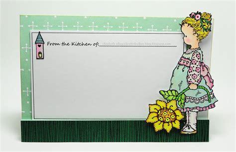 recipe card outline