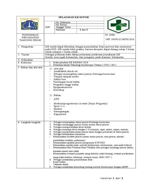 Panduan Lengkap Pelayanan Kb Terkini Penerbitnumed sop kb suntik 2017