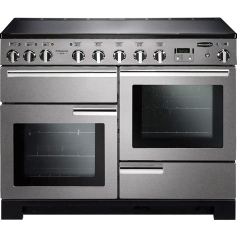electric induction range cookers 110cm rangemaster 101540 professional deluxe 110cm electric range cooker with induction hob