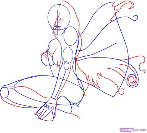 how to draw a fairy silhouette step by step fairies 45 best sculpture textile hardener images on pinterest