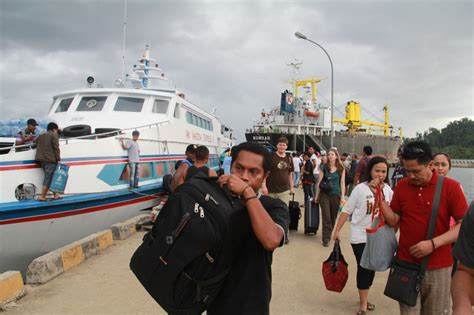ferry waisai sorong raja at a treasure for birders as well as divers