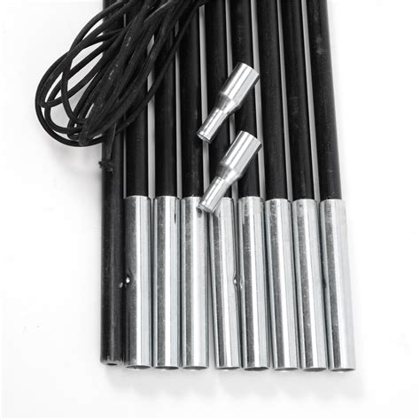 replacement awning poles replacement fibreglass poles corded cing tent