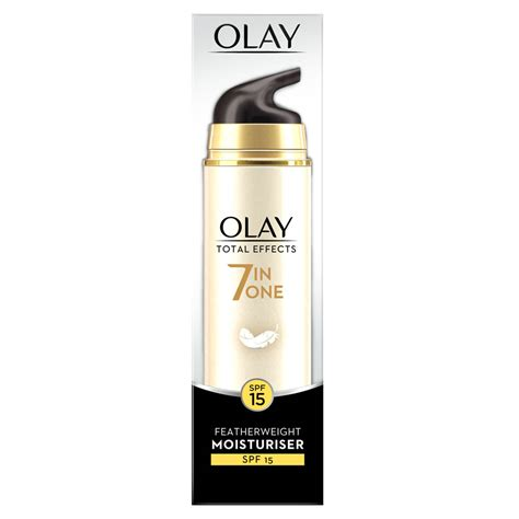 Olay Total Effects 7in1 olay total effects feather weight moisturiser 50ml at wilko