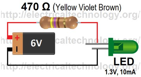 resistor led equation how to calculate the value of resistor for led led s circuits