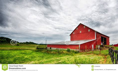 Red Barn Landscape Royalty Free Stock Photo Image 31506305 The Barn Landscape