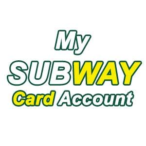 My Subway Gift Card - how to get my subway card registration rewards