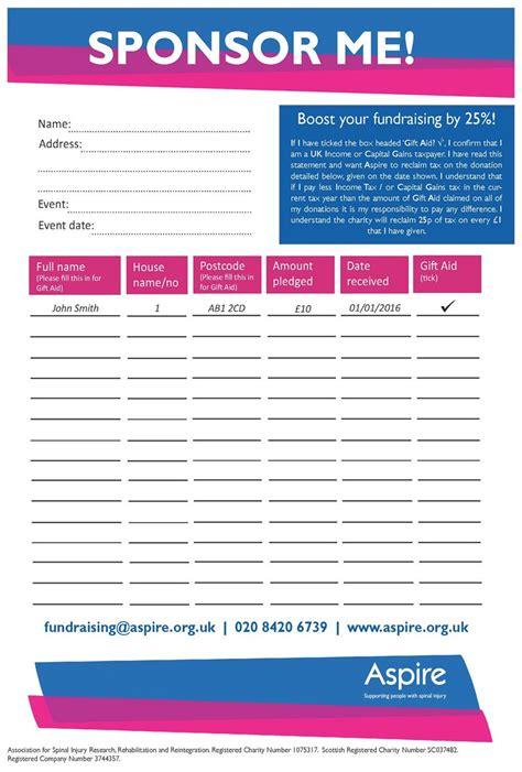 Fundraising Pack Letter sponsorship form images cv letter and format sle letter