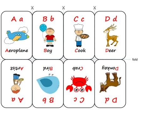 Sided Flash Card Template by Sided Flash Card A D Msia K 1