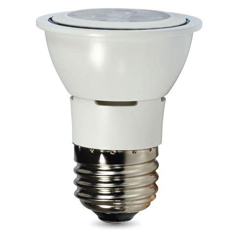 Verbatim Led Light Bulbs Verbatim Contour Series 35w Equivalent Warm White Par16 Flood Led Light Bulb 98631 The Home Depot