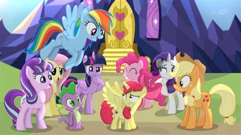 film kartun my little pony comic con my little pony poster revealed moviehole