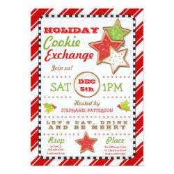 cookie invitation template cookie exchange invitation zazzle