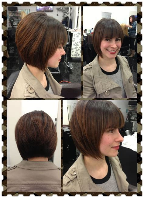 before and after graduated bob haircuts 211 best makeovers images on pinterest hairdos