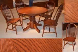 amish table and chairs amish furniture michigan single pedestal table denver side
