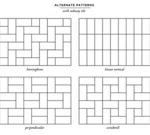 design tile layout online subway tile layouts for kitchen backsplashes