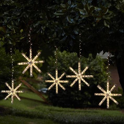 Snowflake Outdoor Lights Outdoor Snowflake Lights Decor Ideasdecor Ideas
