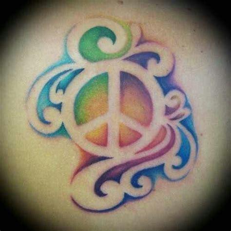 tattoo ideas peace colorful peace sign tattoo tattoos pinterest peace