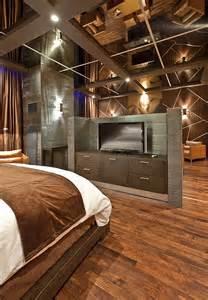 bedroom mirror ceiling minimalist hotel decorating ideas iroonie