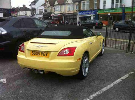 Chrysler Crossfire Manual by Chrysler Crossfire 3 2 Roadster Manual Car For Sale