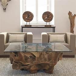 meubles en bois massif fossilis 233 de design organique unique