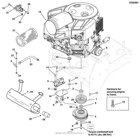 17 hp briggs and stratton engine diagram wiring diagram
