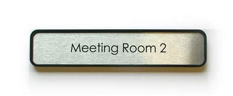 room name signs office door name plates metal office signage