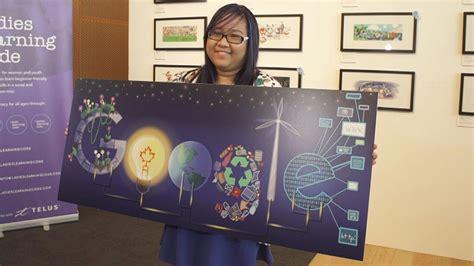 doodle iqbal toronto wins 10 000 prize with optimistic doodle