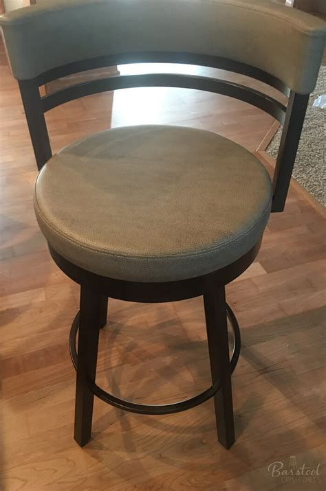 Curved Back Counter Stool by Amisco Ronny Swivel Stool Free Shipping Barstool Comforts