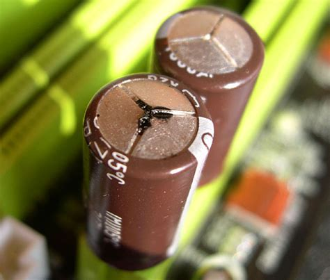 bad capacitors tv i am hitachi p50x01au suddenly it has stopped starting up successfully