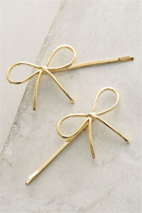 Bobby Pin Set bow bobby pin set jewellery