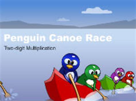 canoe puppies racing play racing at hoodamath